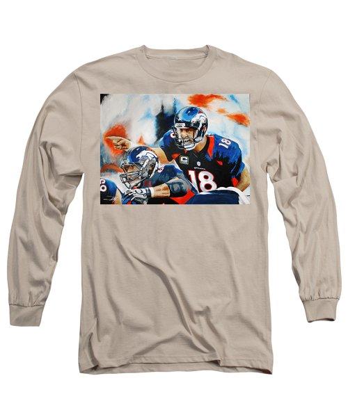 Peyton Manning Long Sleeve T-Shirt