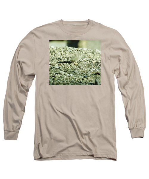 Long Sleeve T-Shirt featuring the photograph Arizona Camo Bird by Belinda Lee