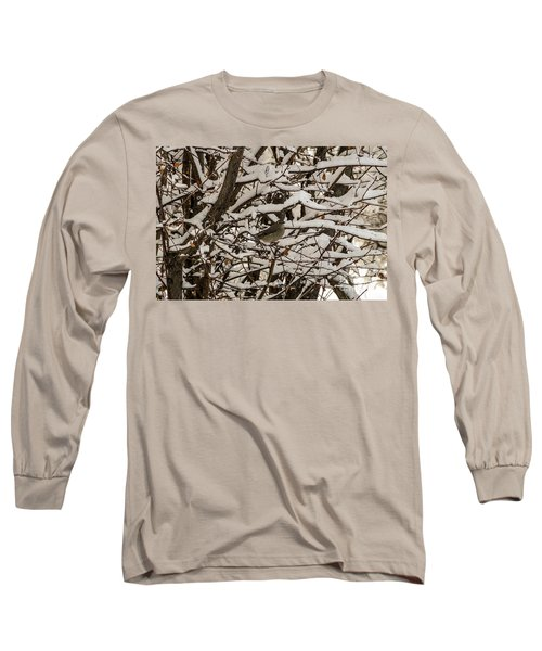 Camouflaged Thrush Long Sleeve T-Shirt