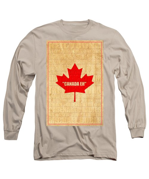 Canada Music 1 Long Sleeve T-Shirt