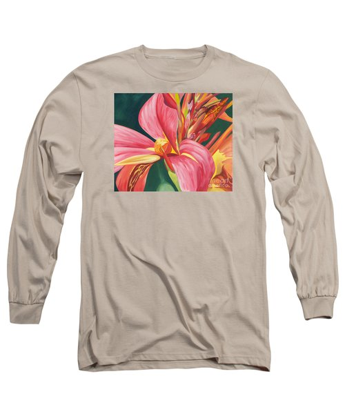 Canna Lily 2 Long Sleeve T-Shirt