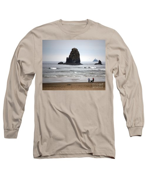 Cannon Beach Run Long Sleeve T-Shirt