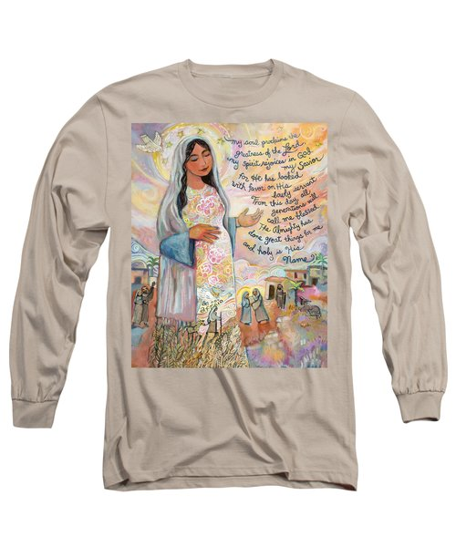 Canticle Of Mary Long Sleeve T-Shirt