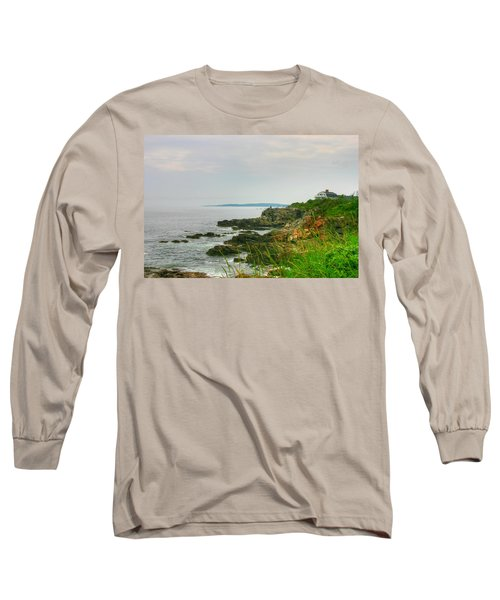 Cape Elizabeth Maine Long Sleeve T-Shirt