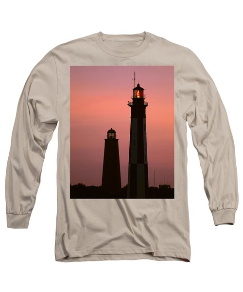 Cape Henry Lighthouses  Long Sleeve T-Shirt
