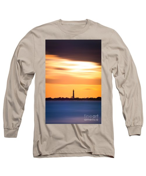Cape May Lighthouse Vertical Version 2 Long Sleeve T-Shirt