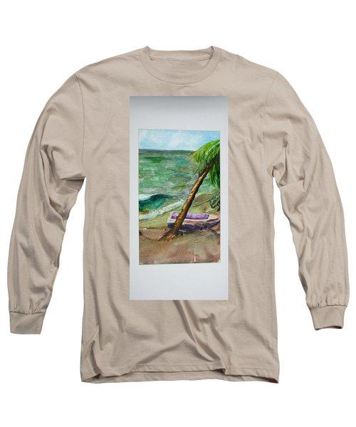 Caribbean Morning II Long Sleeve T-Shirt