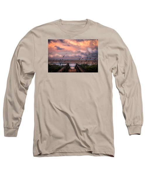 Carolina Dreams Long Sleeve T-Shirt by Karen Wiles