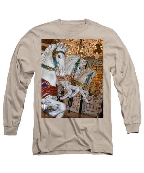 Caruosel Horses Long Sleeve T-Shirt