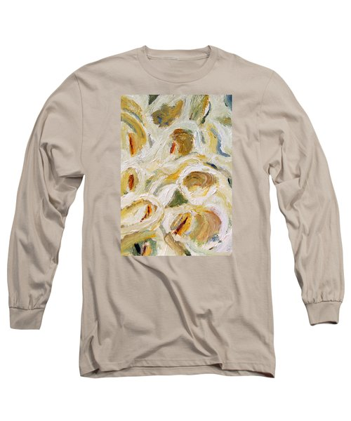 Cascade Of Calla Lillies Long Sleeve T-Shirt by Michael Helfen