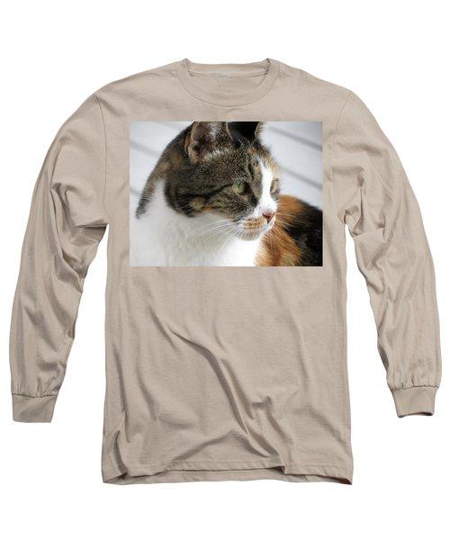 Cat Long Sleeve T-Shirt by Laurel Powell