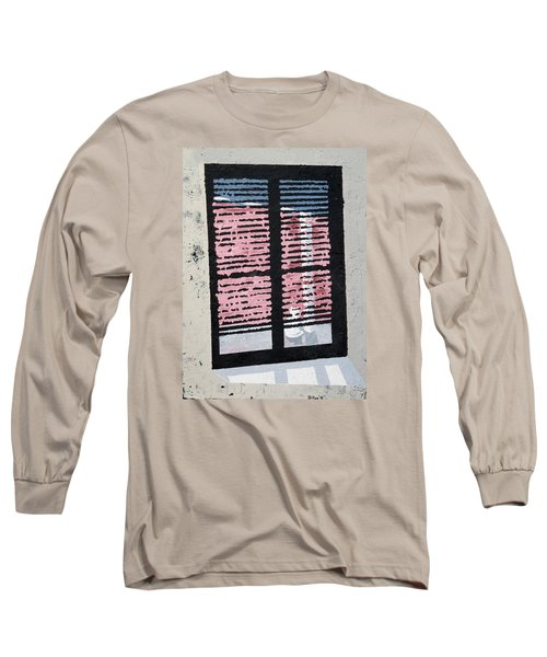 Cat N Window Long Sleeve T-Shirt