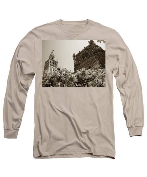 Cathedral Of Seville Long Sleeve T-Shirt