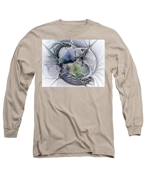 Celestial Sphere Abstract Art Long Sleeve T-Shirt
