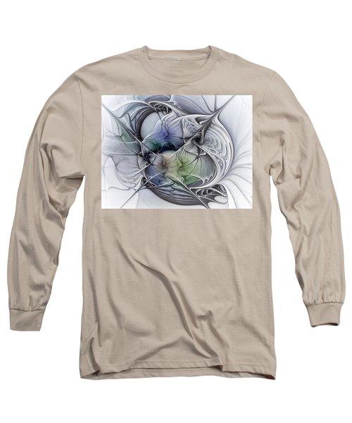 Celestial Sphere Abstract Art Long Sleeve T-Shirt