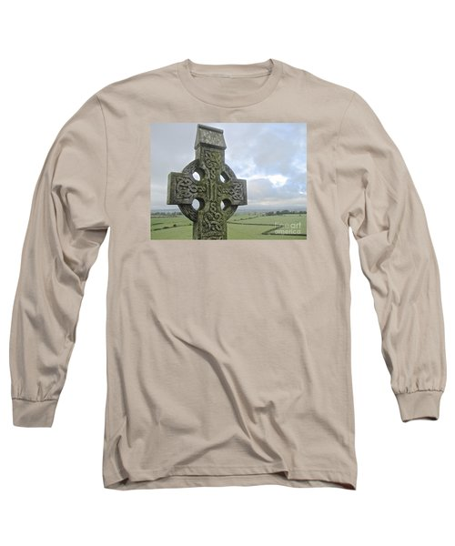 Celtic Cross Long Sleeve T-Shirt by Suzanne Oesterling