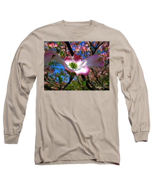 Center Stage Long Sleeve T-Shirt by Patti Whitten