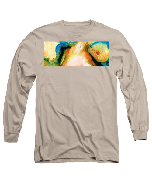 Channels - Abstract Art By Sharon Cummings Long Sleeve T-Shirt