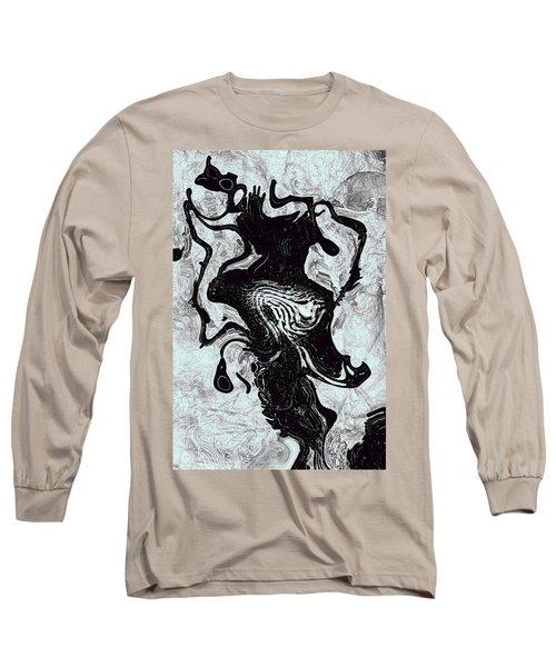 Long Sleeve T-Shirt featuring the digital art Chanteuse by Richard Thomas