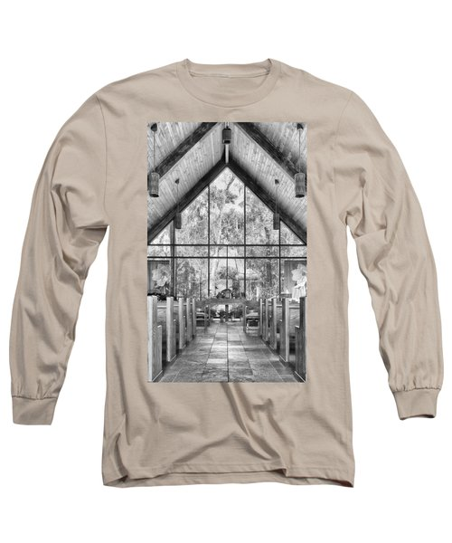 Long Sleeve T-Shirt featuring the photograph Chapel by Howard Salmon