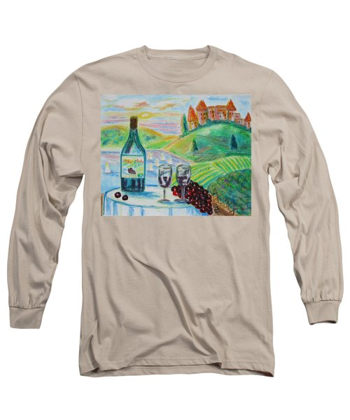 Chateau Wine Long Sleeve T-Shirt