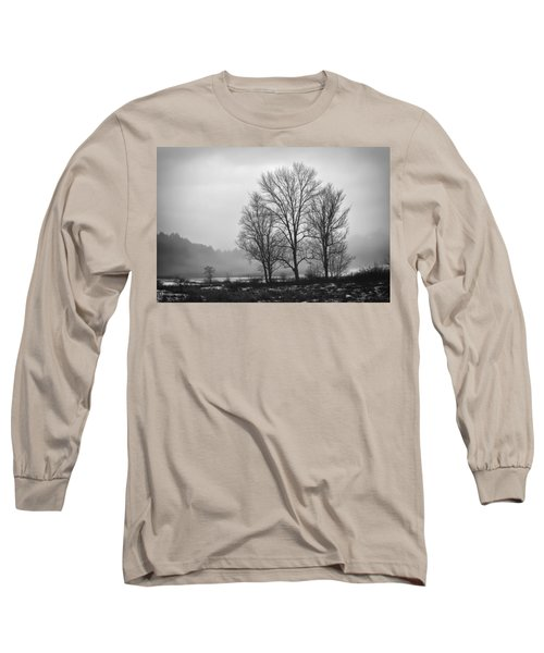 Cheese House Road Trees Long Sleeve T-Shirt