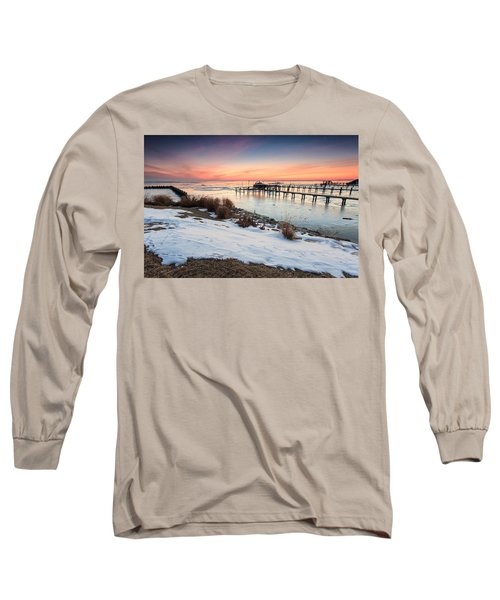 Chesapeake Bay Freeze Long Sleeve T-Shirt