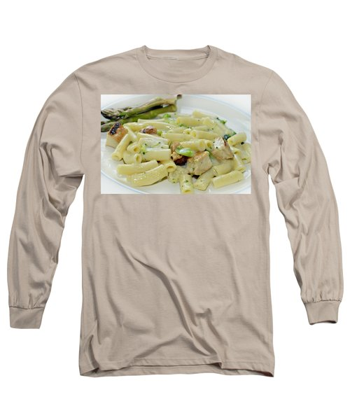 Chicken Alfredo Meal Long Sleeve T-Shirt