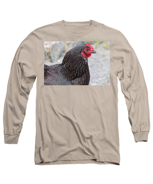 Chicken Profile Long Sleeve T-Shirt