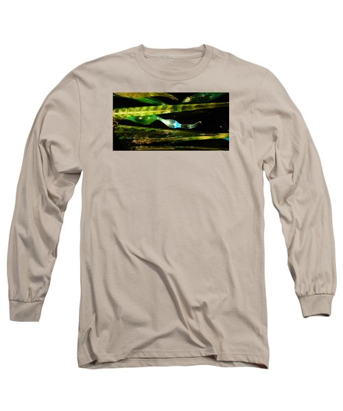 Chihuly Green In Denver Colorado Long Sleeve T-Shirt
