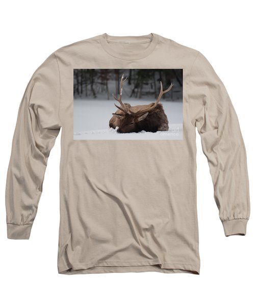 Chillin' Long Sleeve T-Shirt by Bianca Nadeau