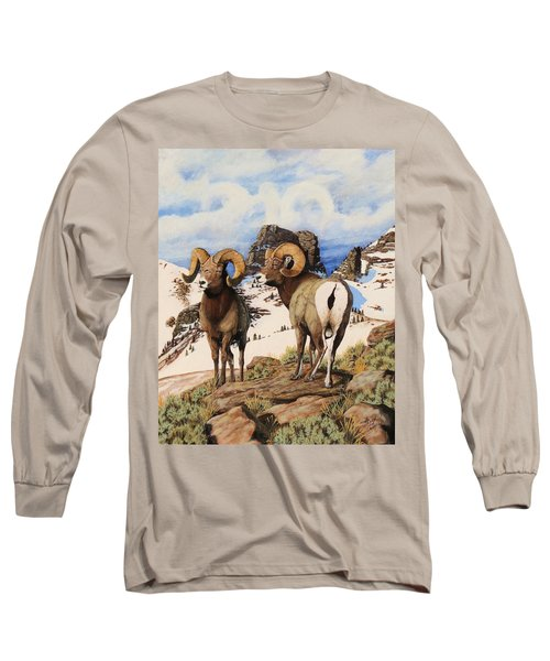 Chimney Rock Thunderheads Long Sleeve T-Shirt
