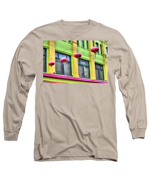 Chinatown Colors Long Sleeve T-Shirt