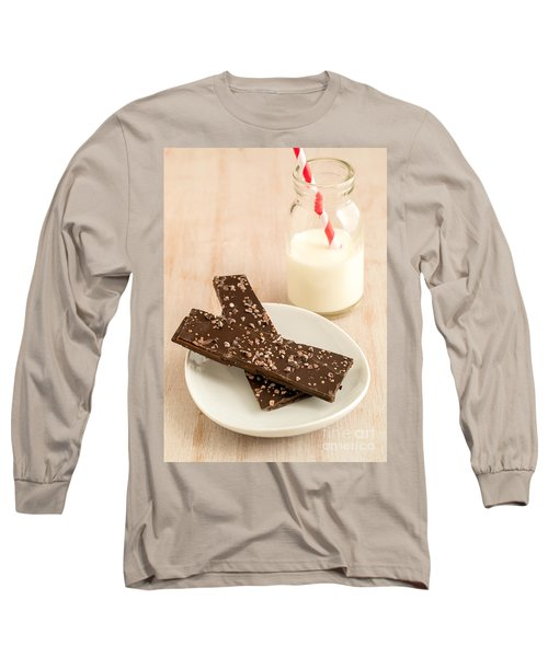 Chioggia Beet And Vanilla Toffee Long Sleeve T-Shirt