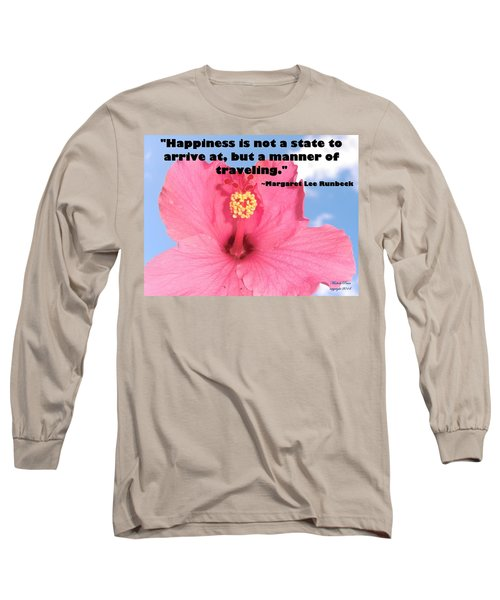 Choose Your Quote Choose Your Picture 1 Long Sleeve T-Shirt