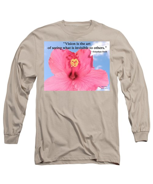 Choose Your Quote Choose Your Picture 2 Long Sleeve T-Shirt