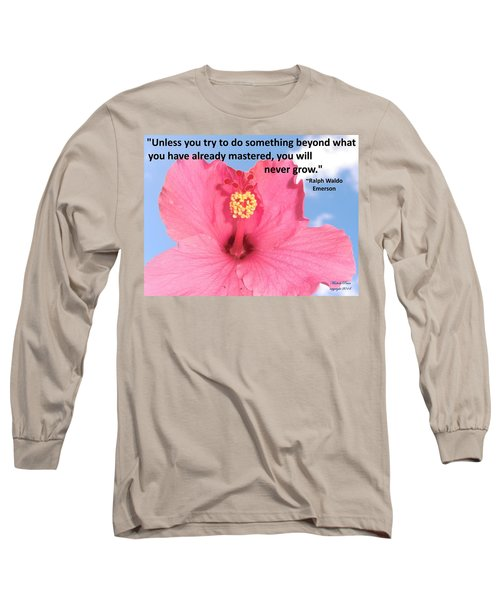 Choose Your Quote Choose Your Picture 5 Long Sleeve T-Shirt