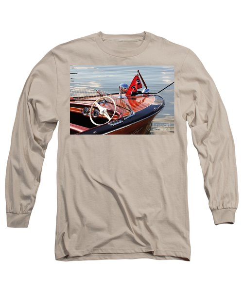 Chris Craft Deluxe Runabout Long Sleeve T-Shirt