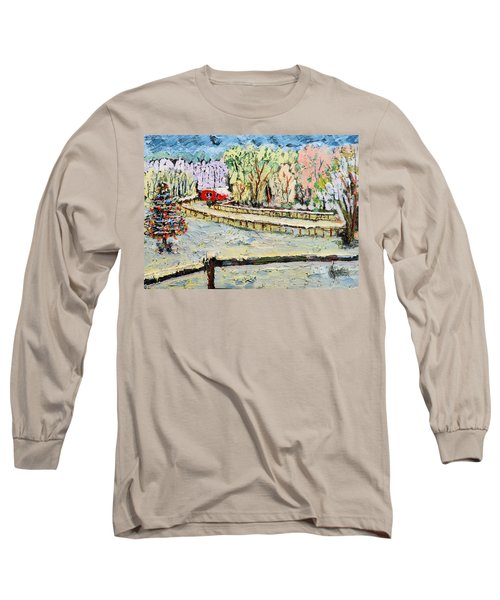 Christmas At Cissy's Farm Long Sleeve T-Shirt