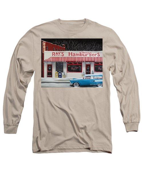 Christmas At Ray's Diner Long Sleeve T-Shirt