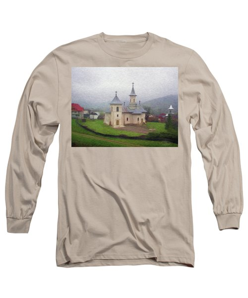 Church In The Mist Long Sleeve T-Shirt
