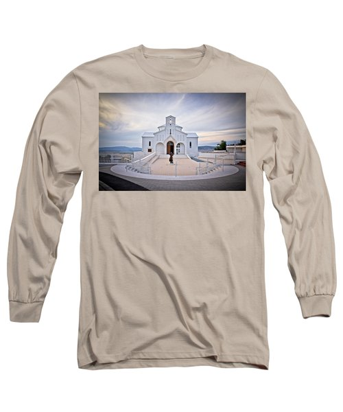 Church Of Croatian Martyrs In Udbina Long Sleeve T-Shirt