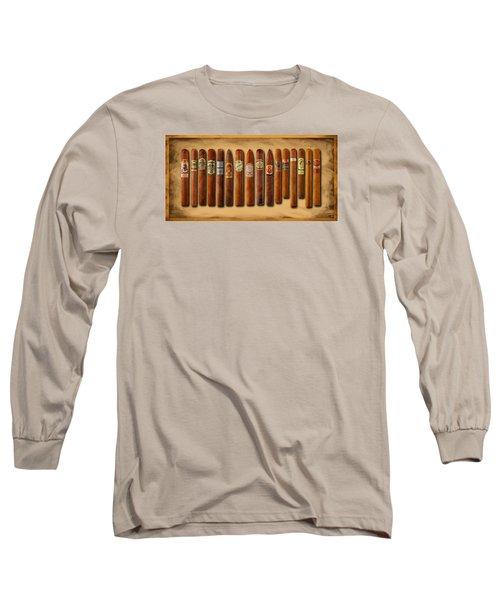 Cigar Sampler Painting Long Sleeve T-Shirt