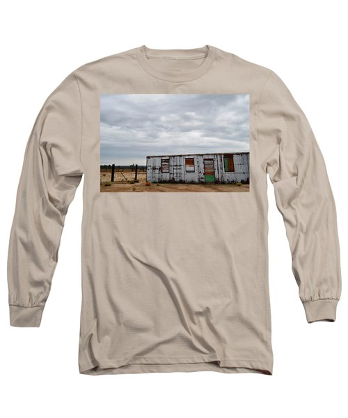 Cima Union Pacific Railroad Station Long Sleeve T-Shirt by Kyle Hanson