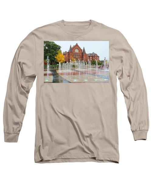 Cincinnati Music Hall 0001 Long Sleeve T-Shirt