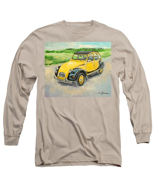 Citroen 2cv Long Sleeve T-Shirt