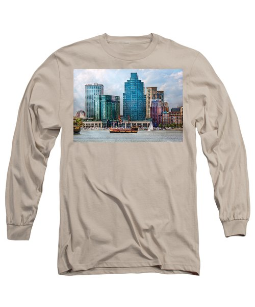 City - Baltimore Md - Harbor East  Long Sleeve T-Shirt