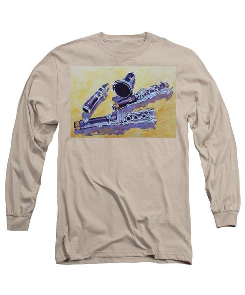 Clarinet Candy Long Sleeve T-Shirt