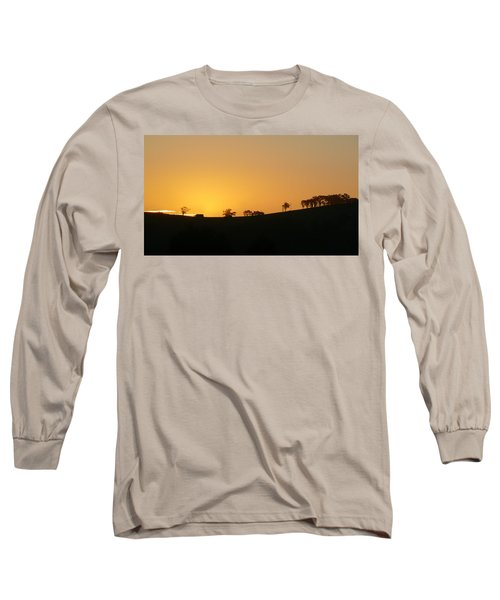Long Sleeve T-Shirt featuring the photograph Clarkes Road by Evelyn Tambour