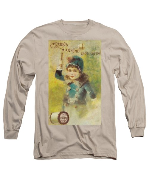Clark's Spool Cotton Long Sleeve T-Shirt